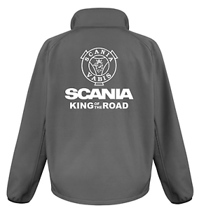 SCANIA KING OF THE ROAD PRINTED SOFTSHELL JACKET