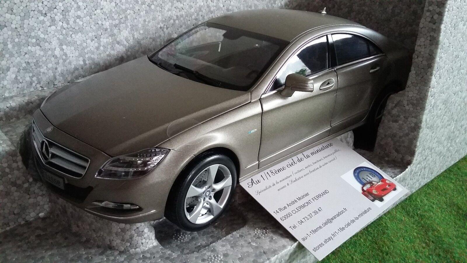 Mercedes  benz cls-klasse hommeganite gris o 1 18 norev miniature voiture b66961297  en ligne au meilleur prix