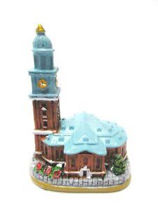 Hamburg-Michel-Kirche-Modell-Souvenir-Germany-Deutschland-handbemalt-Neu