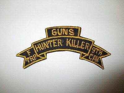 b8265 Vietnam US Army 1st Squadron 9th Cavalry F Troop Hunter Killer IR37C