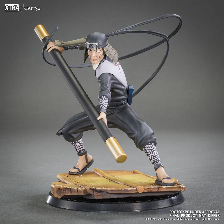 Tsume XTRA Naruto Shippuden Hiruzen Sarutobi Statue 1 10 Scale 17cm New