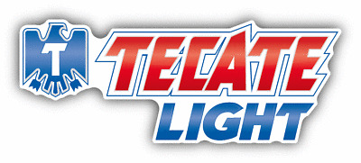 Tecate Light Beer American Drink Car Bumper Sticker Decal