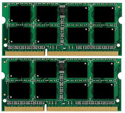 Mid 2010 16GB 2x8GB Memory Sodimm PC3-8500 for 13″ MacBook Pro 2.66GHz
