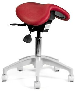 New Saddle Chair Dental Operator Stool Many Colors