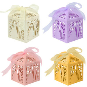 25-100Pc-Paper-Candy-Ribbon-Gift-Boxes-Bride-and-Groom-Wedding-Event-Favor-Boxes