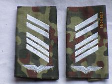 BW-rango cinghie: superiore bacchetta il soldato, Luftwaffe, Bianco/FLECKTARN