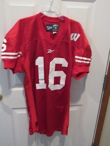 outlet store 397ad 918b7 russell wilson badger jersey