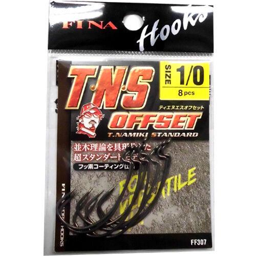 FINA T.N.S OFFSET HOOK Hook Size variation. 6105