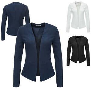 Pieces-Damen-Blazer-Anzugjacke-Business-Cocktail-Sakko-Anzug-Freizeitblazer-NEU