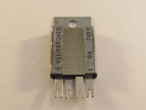 Selen Brückengleichrichter B30C600//350   AEG