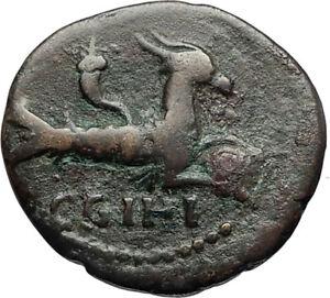SEPTIMIUS-SEVERUS-193AD-Ancient-Roman-Coin-PARIUM-MYSIA-Capricorn-ZODIAC-i67195