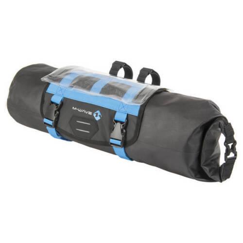 Gepäckträger Tasche Vorderseite der Lenker 10 Liter schwarz-blau 122631 M-Wave viaggio