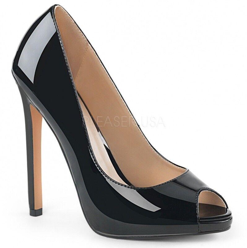 Pleaser Pumps SEXY-42 schwarz Günstige und gute Schuhe