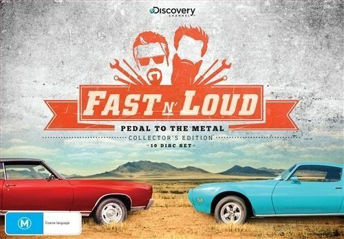 1 of 1 - Fast N' Loud - Pedal to the Metal [Collector's Edition] DVD