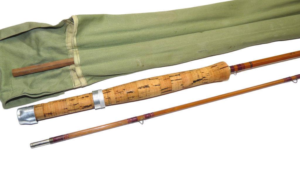 Pezon et Michel for Farlow's Parabolic Speciale Normale  split cane rod fine ...