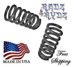 """FORD F150 2004-2014 LOWERING DROP KIT 3/"""" FRONT COIL SPRINGS V8 2WD USA"""