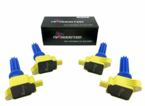 4 Performance Ignition Coils for Ford Mustang Edge Escape Focus Fusion MKZ UF670