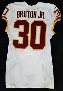 Details about #30 David Bruton Jr. of Washington Redskins NFL Game Issued Jersey