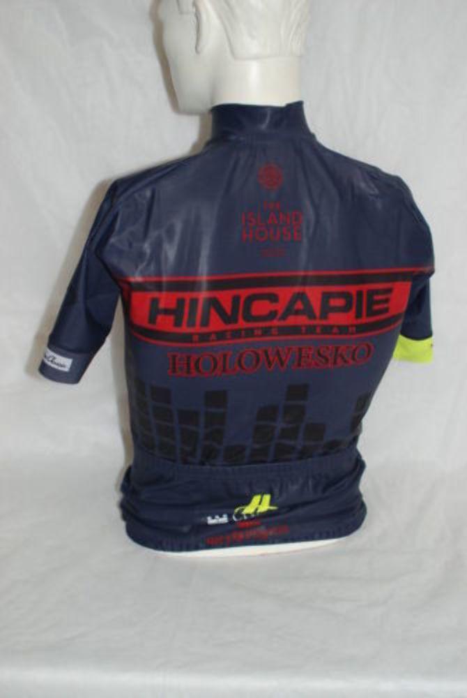 Hincapie Pro Cycling Element Team Element Cycling Rain SS Jersey  Herren Small NEW 254477