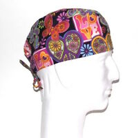 Love Theme Scrub Hat