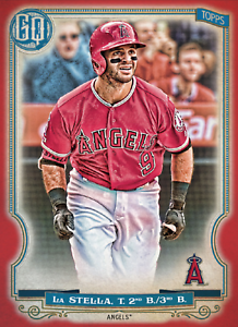 2020 Topps BUNT Tommy LaStella Gypsy Queen RED Base ICONIC! [DIGITAL CARD}