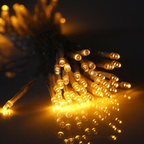 10//20//30//40//50//80LED Lichterkette Micro Drahtlichterkette Batterie Weihnachten