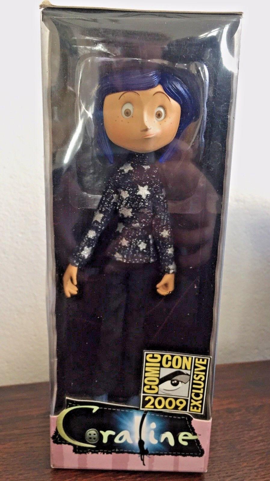 Figura de Estrella Spangled Suéter Raro Coraline Neca Comic Con 2009 exclusivo Laika