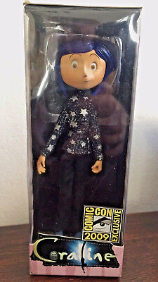 Rare Coraline Star Spangled Sweater Figure Neca Comic Con 2009 Exclusive Laika Ebay