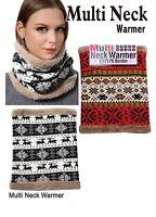 Neck Warmer Head Multi Type Reversable Warm Winter Usa Fashion Soft Collar Usa