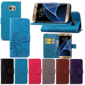 New-Pattern-Leather-Magnetic-Flip-Wallet-Case-Cover-For-Samsung-Galaxy-Models