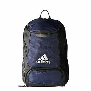 9f008d809573 adidas Climaproof Stadium Team Gear up Soccer Backpack Navy Name ...