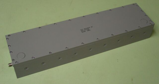 Spectrum Fsy Microwave 897 5 Mhz Rf Bandp Filter