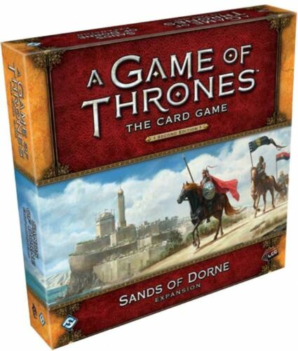A Game of Thrones LCG 2nd Ed Deluxe Expansion Sands of Dorne