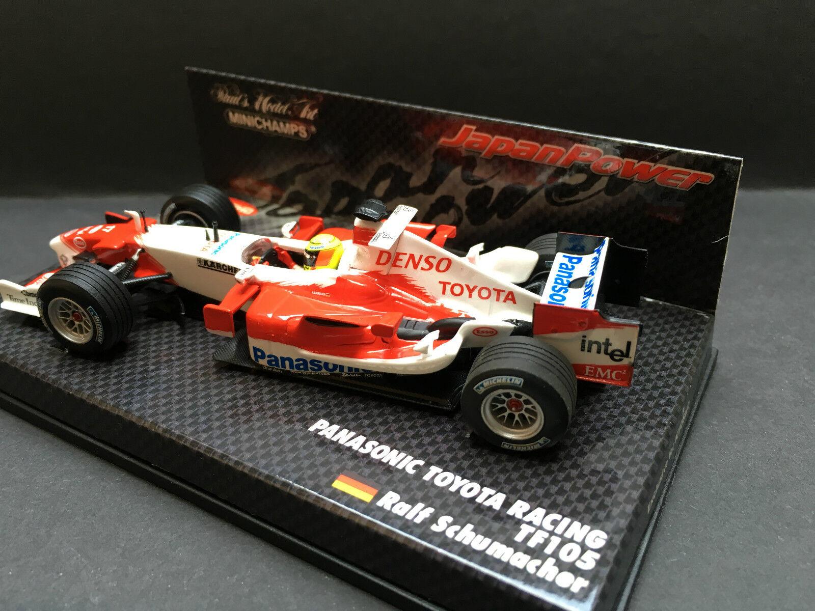 Minichamps - Ralph Schumacher - Toyota  - TF105 - - - 1 43-2005 -Japan Power Special 1f1a2b