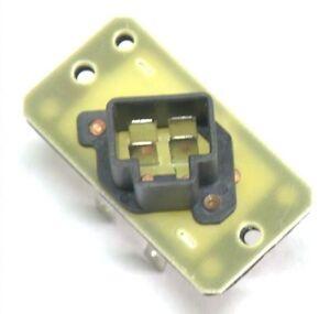 Blower motor regulator resistor for 1997 2006 ford for Ford truck blower motor resistor