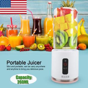USB-Portable-Juicer-Blender-Travel-Personal-Mixer-Juice-Milkshake-Cup-260-ML-US