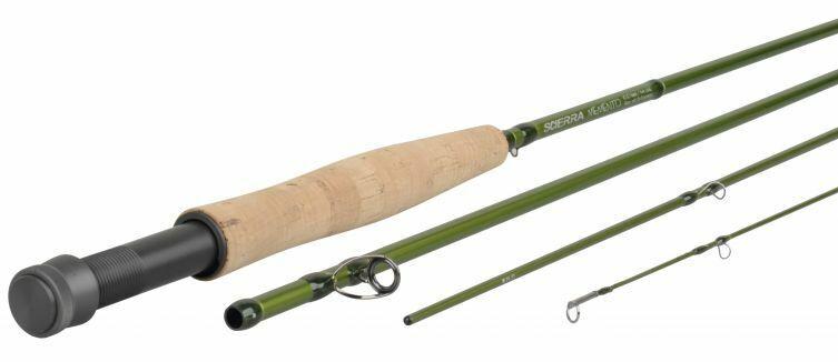 New Scierra Memento 10' (4 Piece) Fly  Rod, Rec Line Wt 15-17g (RRP )  for sale online