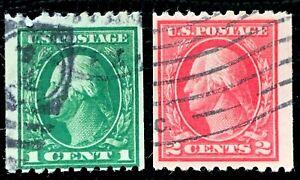 US-Stamp-SC-441-442-441-442-Washington-Used-CV-46-5