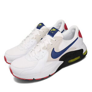 Nike Air Max Excee White Blue Red Black