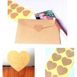 Details Zu 100 Aufkleber Heart Love Herz Etikett Sticker Siegel Hochzeit Wedding 35cm