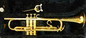 Selmer-USA-1952-Signet-039-S-039-Brace-Trumpet-Valves-match-serial-Shilke-14A4A-MP
