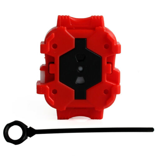 Red White Genuine Kids Toy Top BEYBLADE BURST Top Launcher Grip Black