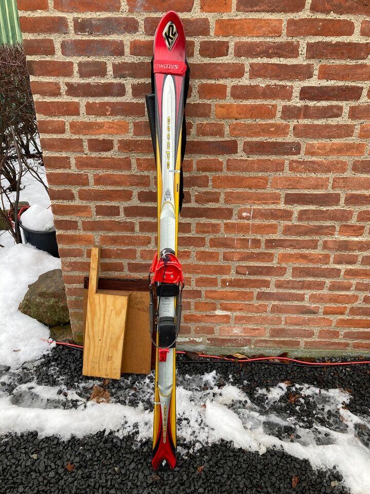 Telemarkski, K2, str. Længde 160 cm
