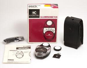 Kyoritsu-Illuminometer-Model-5200-Zur-Messung-der-Lichtintensitat