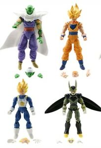 4 personnages de Dragon Ball -16cm.- Statue modèle Super Z Sayan Goku Figure