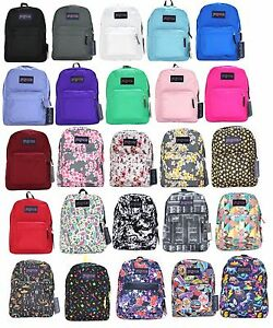 JanSport SuperBreak Backpack Black Blue Red Green Purple Whtie ...