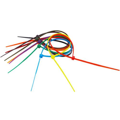 4*200*3.6MM Self-Locking Network Nylon Plastic Cable Wire Zip Tie Cord Strap