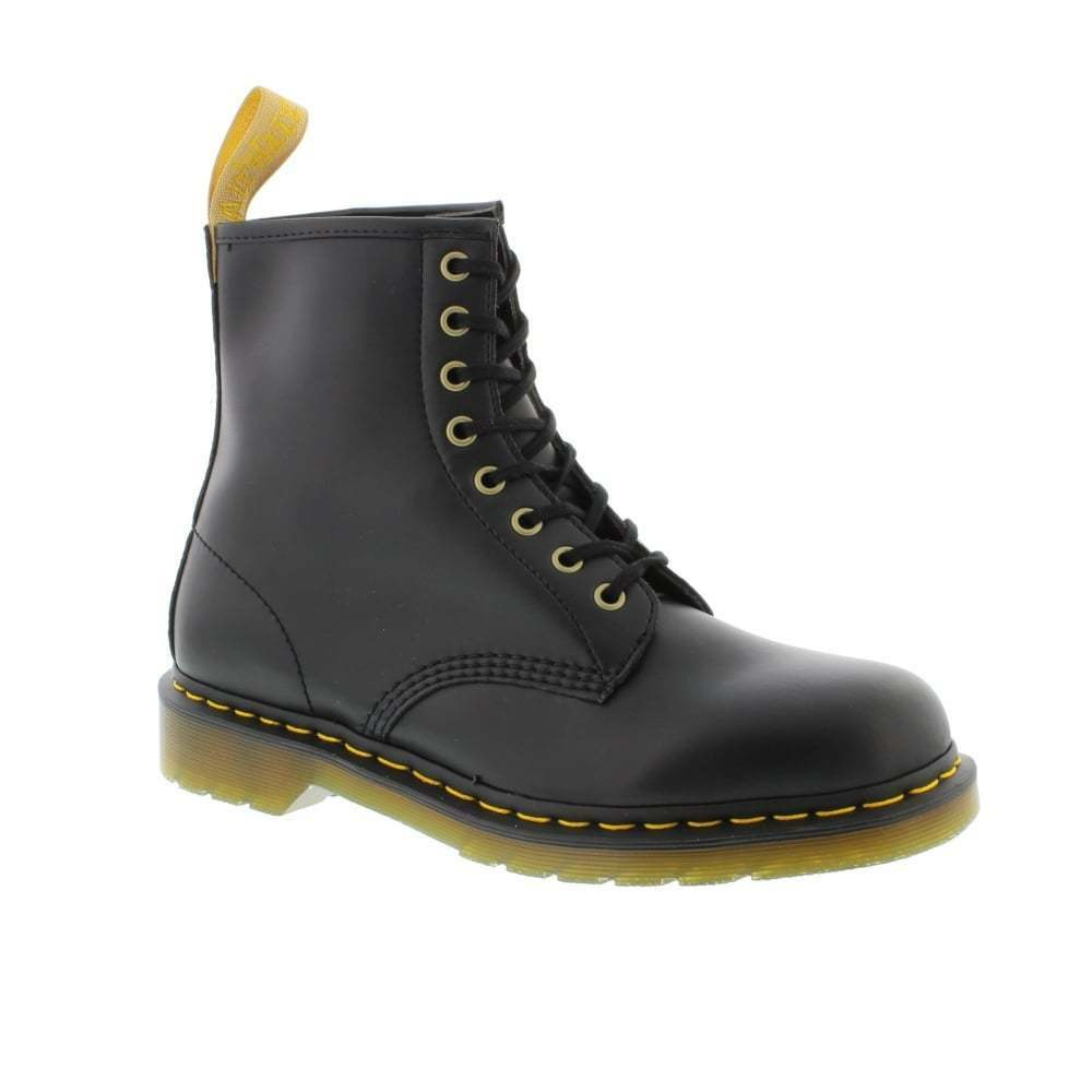 Dr Martens Vegan 1460 - Black Felix Rub Off (Man-Made)   Boots