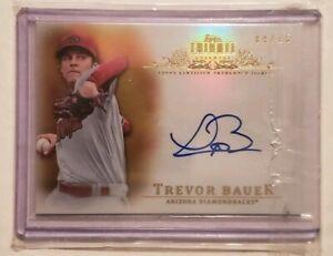 2013-Topps-Tribute-Autograph-Trevor-Bauer-09-15-Arizona-Diamondbacks