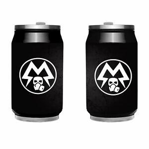 Metro Exodus Metal Lata Espartano Logotipo Tazas - para Juegos Merchandise